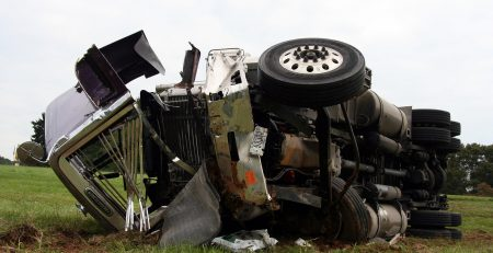 Brookhaven, MS – Accident with Overturned Tractor-Trailer on I-55 Results in Injuries