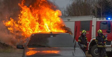 Escaping A Burning Car After a Mississippi Car Accident