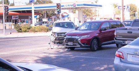 Oxford, MS - Washington Ave Site of Vehicle Collision with Injuries